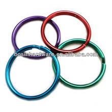 Fashion High Quality Metal Colored Split Rings