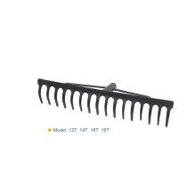 Agricultura económica de acero de 14 dientes / Rastrillo de jardín