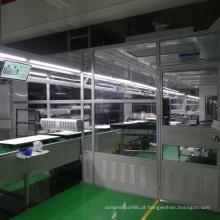 Sala limpa personalizada com diferentes níveis de limpeza