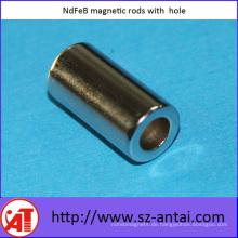 NdFeB magnetische Stäbe mit Loch