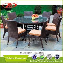 Set de jantar ao ar livre / conjunto de jantar de pátio / conjunto de jantar de jardim (DH-6117)