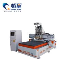Máquina de carpintería enrutador CNC de velocidad rápida servo motor
