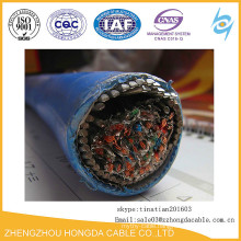 XLPE/SWA/OS/PVC XLPE Insulated SWA LSZH Fire Resistance Power Cable