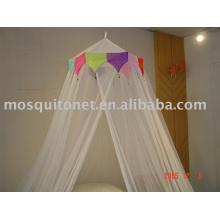 Crown Beaded Bamboo Mosquito Net
