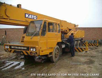 used kato crane NK250E-V