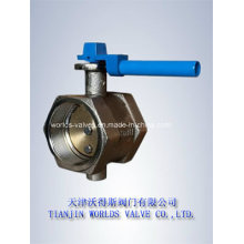 Thread Connection Butterfly Valve with Hand Lever (WDS)