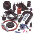 Certificado de ISO9001 e TS 16949 produtos do silicone moldado personalizado