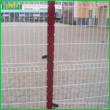 Precio de fábrica barata y fina 3d soldada valla de malla de alambre