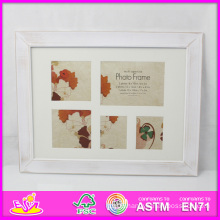 2014 Hot Sale New High Quality (W09A034) En71 Light Classic Fashion Picture Photo Frames, Photo Picture Art Frame, Wooden Gift Home Decortion Frame