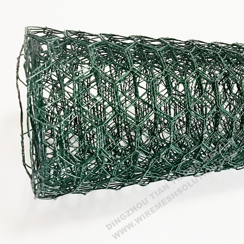 PVC Coated Hexagonal Wire Mesh for Animals