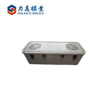 Moule / moule de caisse de batterie de TV d'injection en plastique, moule en plastique de caisse de batterie de stockage, moule en plastique de boîte de batterie