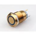 19mm 110v Lighted Illuminated Waterproof Pushbutton Switch