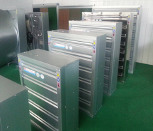 ventilation fan system for poultry farm / factory / greenhouse