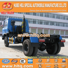 DONGFENG 4x2 10tons 190hp hydraulic lifting garbage truck Left hand drive best price for sale in China