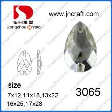 Груша граненый Кристалл бусины для женщин аксессуары (ДЗ-3065)