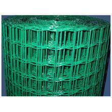 75*100mm mesh size 2.2*3.5m green plastic coated netting