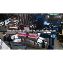 2 axis scrubbing brush tufting machine