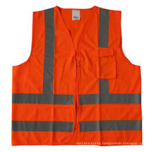 High-Visibility Refelctive Safety Vest with Pockets
