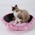 Gros Nature EVA durable Ovale Pet Chat Lit DogLemi Nouveau Design Fonctionnel Nature En Bois Pet House Chaise doux chat lit >> Funny chenil luxe oeuf mou maison pour chien et chat