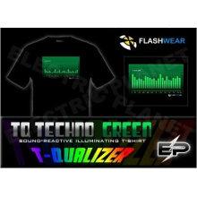 [Super Deal]Wholesale 2009 fashion hot sale T-shirt A33,el t-shirt,led t-shirt