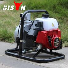 BISON China 1.5inch 2HP Benzinmotor Manuelle Druckpumpe mit niedrigem Druck