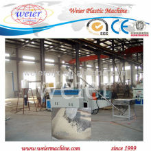 Qingdao weier CE single screw wpc pellet making machine