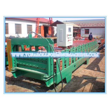 High quality aluminiummetal glazed tile roll forming machine