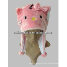 Прекрасный дизайн плюшевых животных шляпа