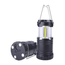 Lanterna LED de acampamento com bateria e base magnética