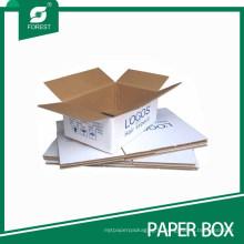 Boîte d'expédition déplaçable de courrier de carton pliable (FP200102)