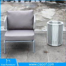 China Company Wholesale Cheap Simicircle Rattan Sofa Chair