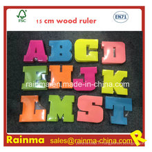 Notes autocollantes de l'alphabet avec un joli design