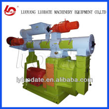 Animal manure fertilizer pellet making machine