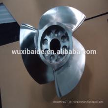 Kundenspezifische CNC-Bearbeitung Edelstahl 17-4PH Klinge für Boot, CNC Drehen Edelstahl Teile Service