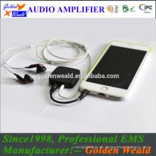amplificador recarregável amplificador de auscultadores amplificador recarregável de bateria
