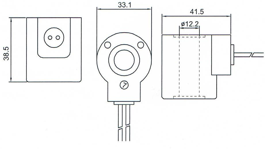Dimension of BB12238507 Solenoid Coil: