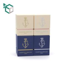 Cartón rígido Nuevo estilo Buen precio por encargo vela caja de regalo de papel de la vela del fabricante de China