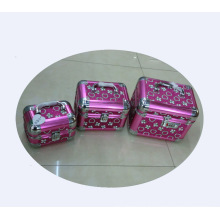 venta caliente caja de cosméticos de aluminio