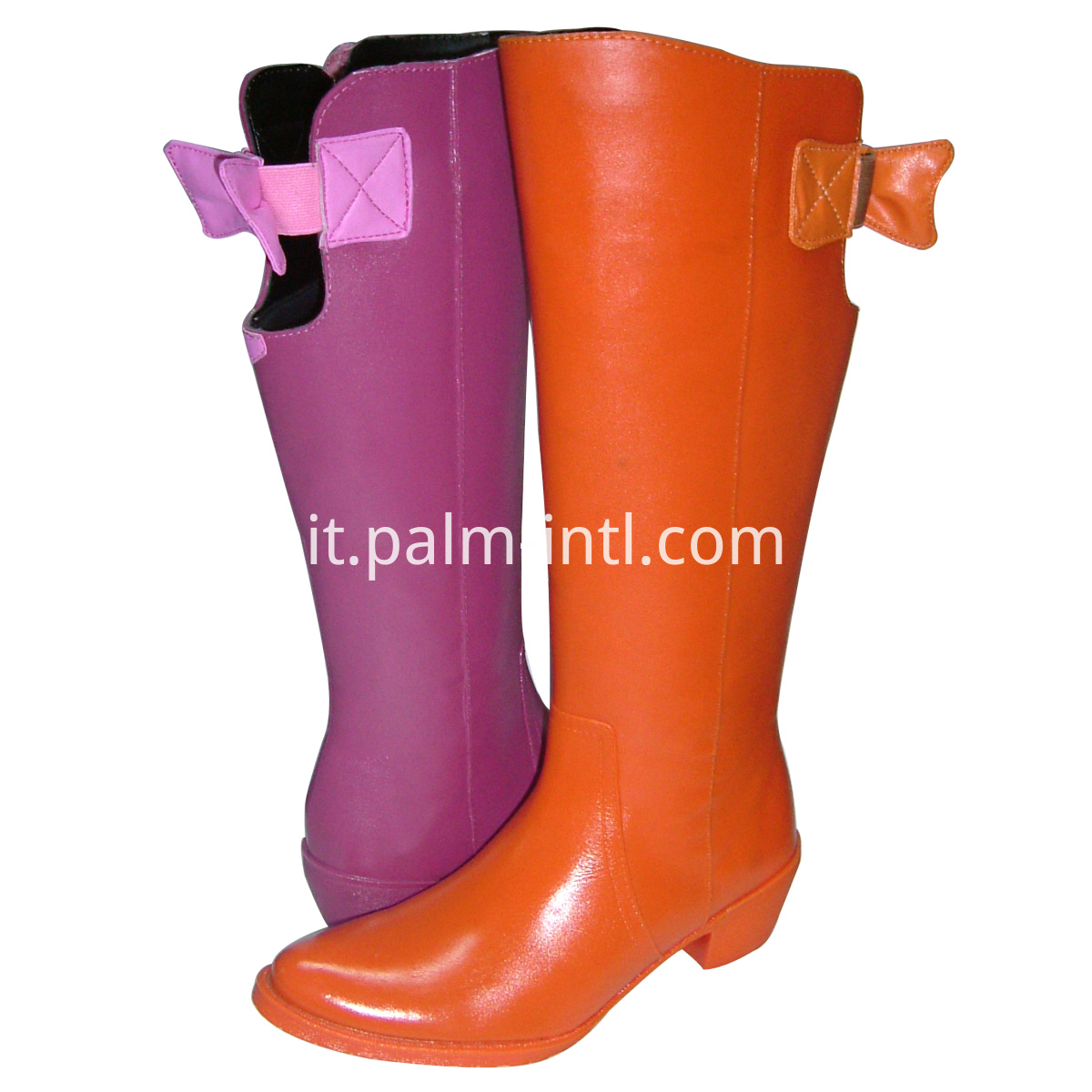PVC Horse Riding Boots