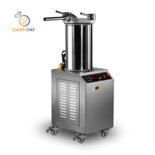 Golden Chef heavy duty commercial automatic sausage maker 300 400 600 kg/h sausage filler machine electric sausage stuffer