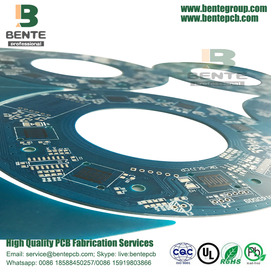 2 FR4 Layers PCB HASL lead free Prototype PCB Carbon oil