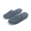 Wedding jersey fabric slippers for guests