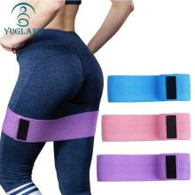 Exercise Gym Yoga bands Set Premium Anti-burst Fitness LaTeX pink fabric yoga loop resistance bands