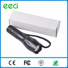 Zoom plus lumineux 5 Modes G700 Long Range led Flashlight, 18650 Rechargeable led Flashlight