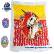 Toalha mágica redonda de toalhas comprimidas