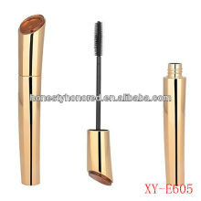 Plastic Cosmetics packaging Golden Mascara Packaging Tubes