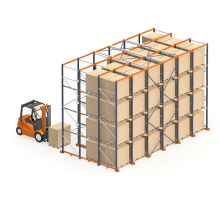 Heavy Loading Drive Through Pallet Racking