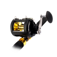FBTQ_FTSG9000B trolling reel aluminum 8BB CNC Alu spool stainless steel handle