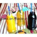 Glas-Getränkeflaschen Glas-Saft-Flaschen mit Deckel