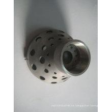 Pieza de maquinaria de fundición de inversión de acero al carbono OEM